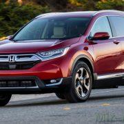Honda CR-V получит третий ряд сидений