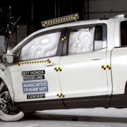 Honda Ridgeline успешно прошла краш-тест TSP+