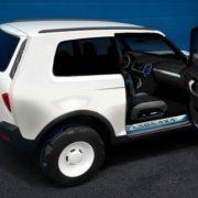 Новое поколение LADA 4×4 получит комплектующие от Renault Duster