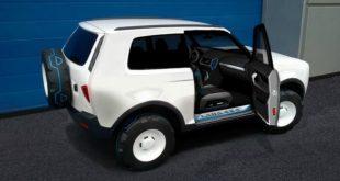 Новое поколение LADA 4x4 получит комплектующие от Renault Duster