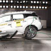 Nissan Murano провалил краш-тест NCAP