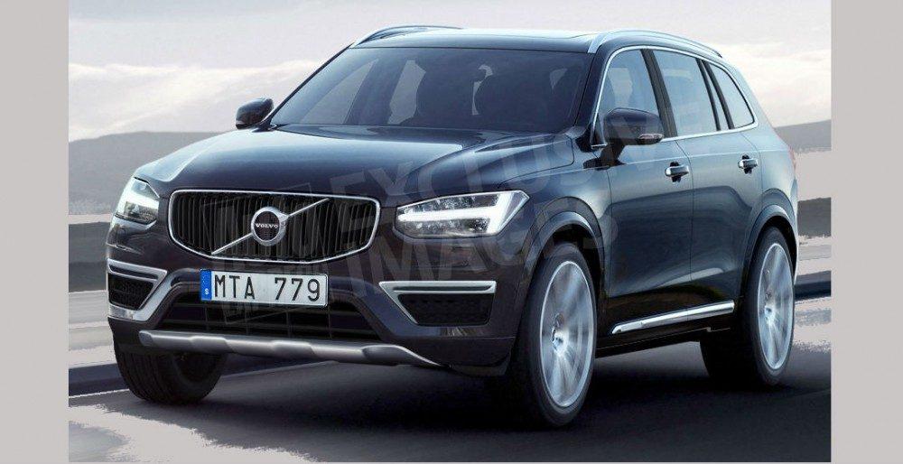 Второе поколение Volvo XC60 получило визуализацию