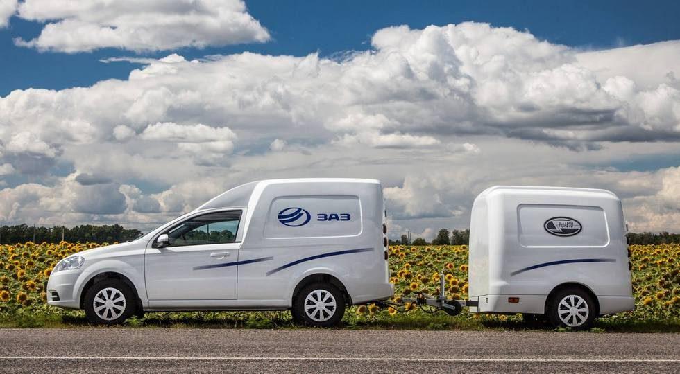 ZAZ выпустит на рынок обновленный Vida Cargo