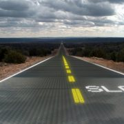 Первая дорога из солнечных батарей во Франции
