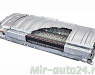Батарея новой гибридной установки THS-II