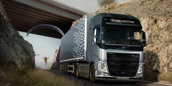 Volvo привязала к фуре «Летающего пассажира»