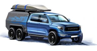 Toyota Tundra 6x6: фото и характеристики