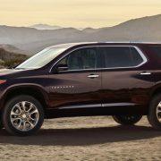 Автосалон в Детройте NAIAS-2017: Chevrolet Traverse 2018