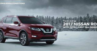 Nissan Rogue опять воюет со снеговиками