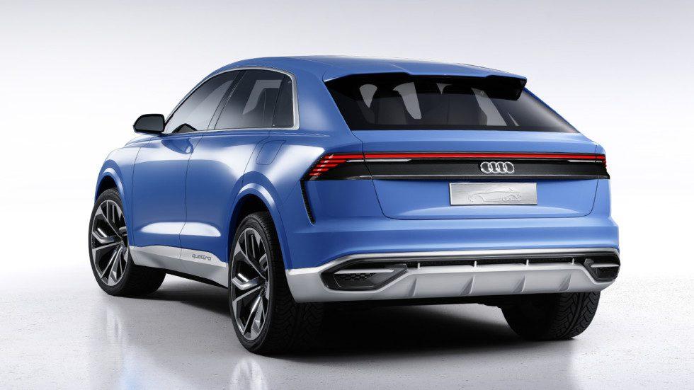 Audi Q8 Concept дебютировал на автосалоне в Детройте