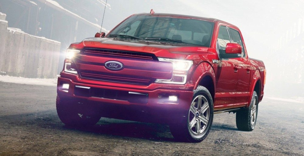 Ford F-150 2018 цена комплектации