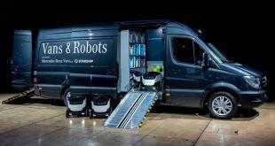 Mercedes-Benz Vans будет доставлять грузы на автономных роботах