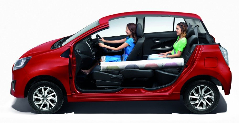 "Perodua Axi 2017: ""мелкий"" хетчбэк за 334 000 рублей"