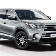 Известны цены и комплектации на Toyota Highlander 2017 в России