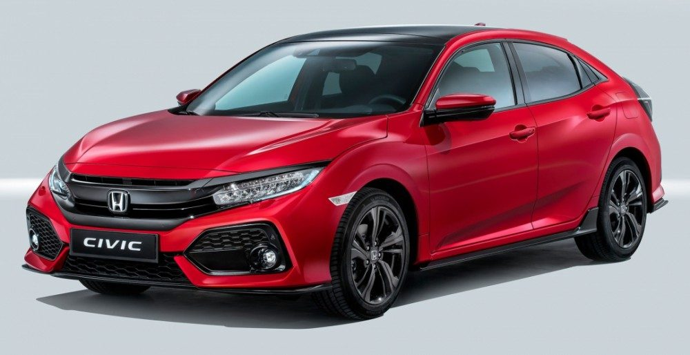 Старт продаж Honda Civic 2017: фото цена и комплектации
