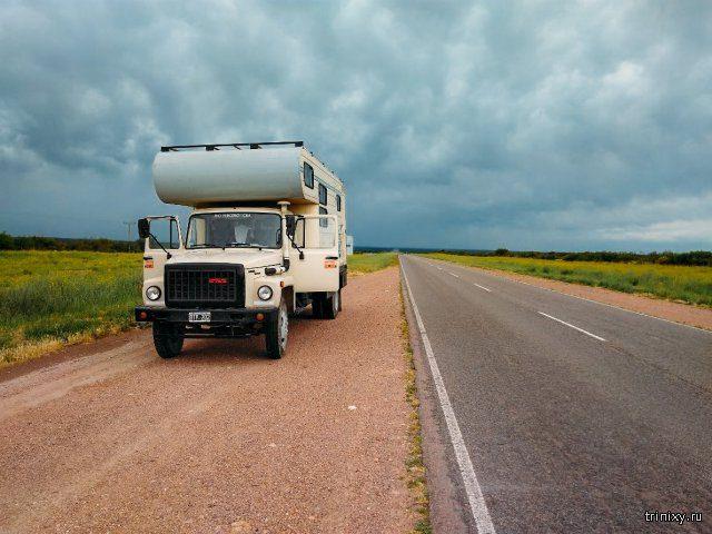 Аргентинский дом на колесах на базе ГАЗ-3309