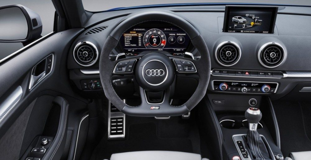 Audi RS 3 Sportback 2017 цена комплектации