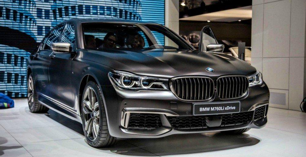 BMW M760Li 2017: первые подробности о премиальном седане