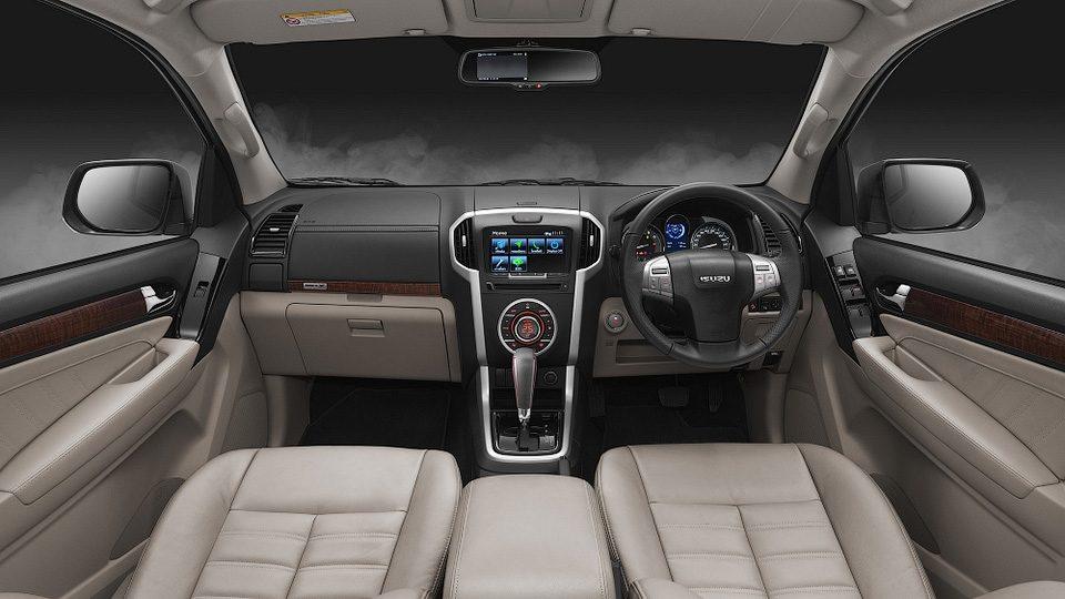 Обновленный Isuzu MU-X или перелицованная версиея Chevrolet Trailblazer