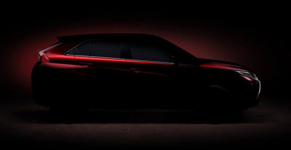 Mitsubishi Eclipse Cross первые фото ихарактеристики