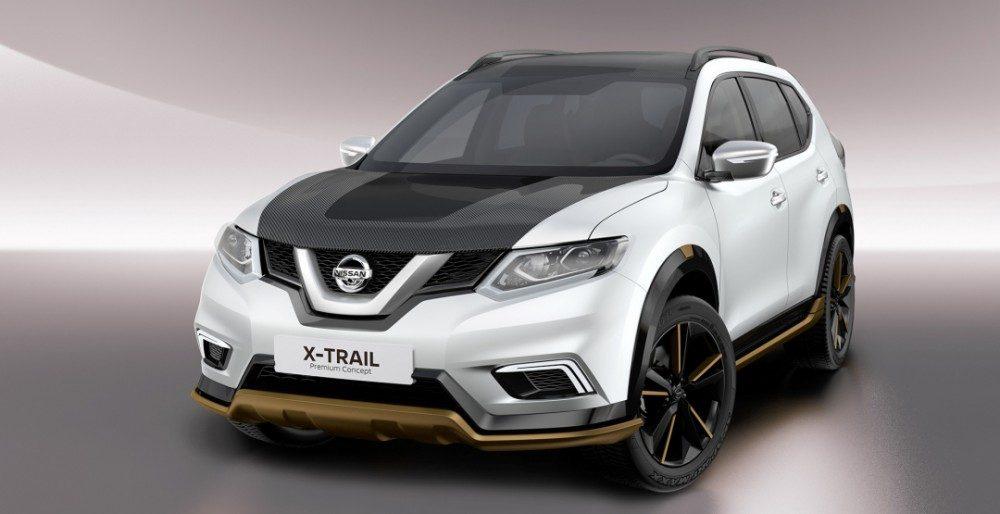 Новый Nissan X-Trail покажут на мотор-шоу в Женеве