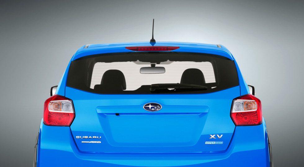 Subaru XV в специальной версии Hyper Edition