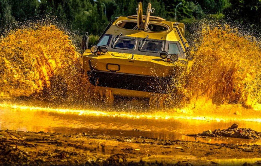 Как превратить БРДМ-2 в роскошный броневик