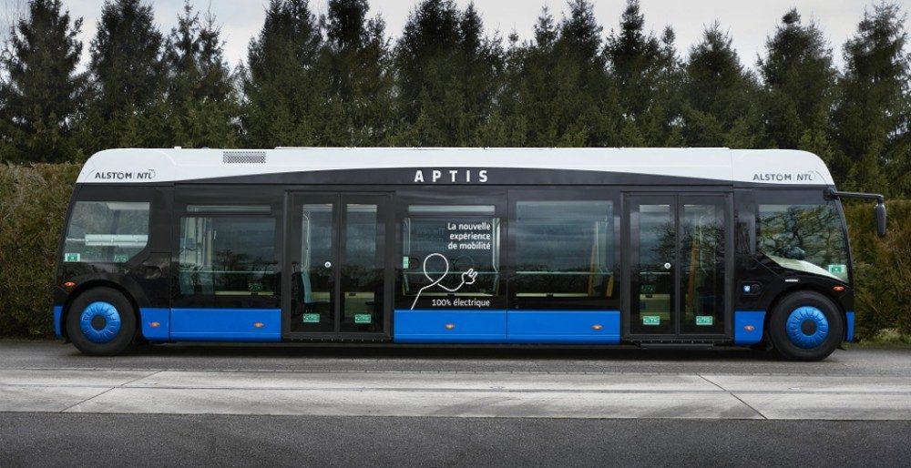 Alstom Aptis - революционный по маневренности автобус