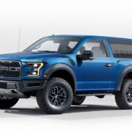 Ford Bronco 2018: новые подробности о рестайлинге