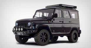 Devolro UAZ самый стильный и экзотический тюнинг УАЗ Хантер