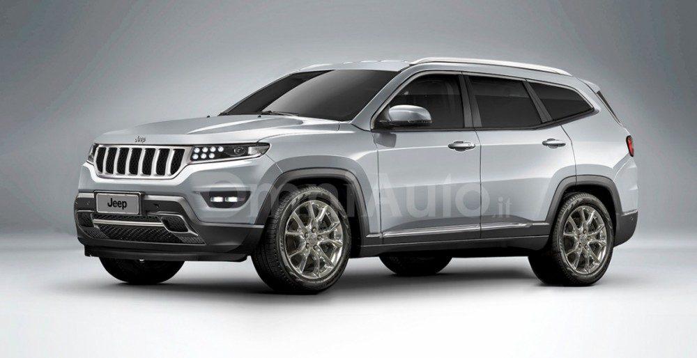 Jeep Grand Wagoneer 2018: рендер и новые подробности