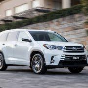 Toyota представила новый Kluger GX 2WD 2017 модельного года