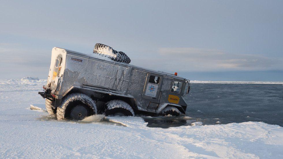 Северный полюс будут покорять на Бурлаке 2.0.