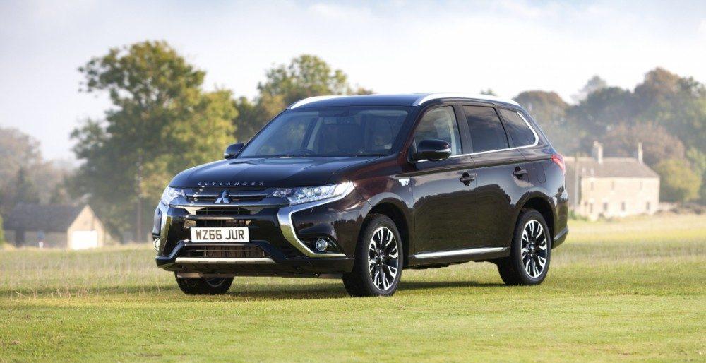 Mitsubishi Outlander PHEV обзавелся новой версией Juro