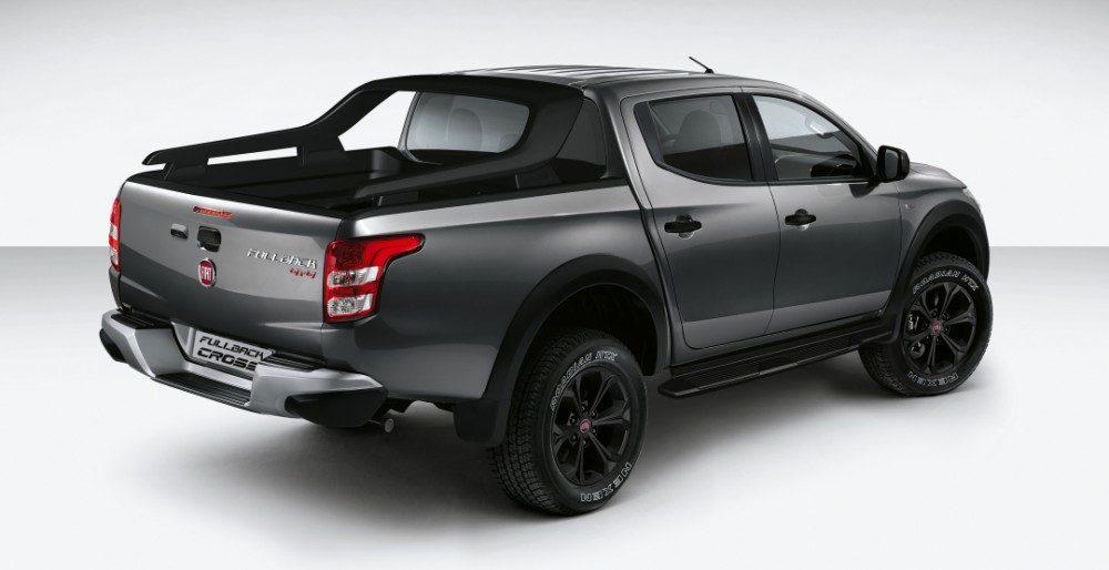 Fiat Fullback Cross: новая спецверсия пикапа