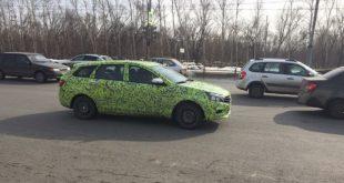 """Серийный универсал LADA Vesta: новые подробности и """"живые"""" фото"""