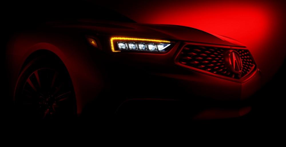 Acura представит новый удлинненный седан TLX LWB