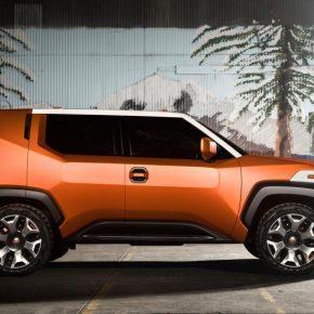 FT-4X: новый яркий и стильный концепт Toyota