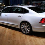 Volvo S90 2018 с удлиненным салоном дебютировал в Нью-Йорке