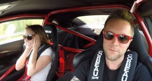 Сверхгромкий или Chevrolet Camaro ZL1 взрывает подушки безопасности. Видео