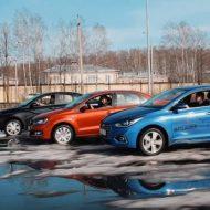 Хендай Солярис, Лада Веста и Фольксваген Поло в сравнительном тесте от Clickoncar