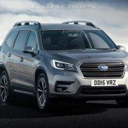 Subaru Ascent 2018: первый рендер и другие подробности
