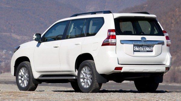 Дизельные версии Land Cruiser Prado в России получили новые опции