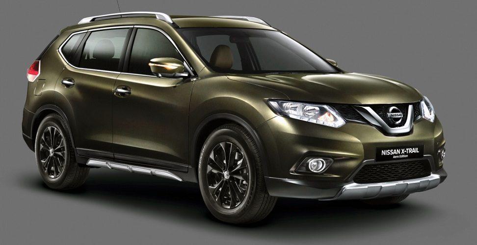 Nissan X-Trail Aero Edition новая версия кроссовера
