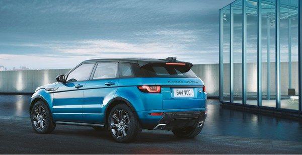 Range Rover Evoque получил спецверсию Landmark Edition