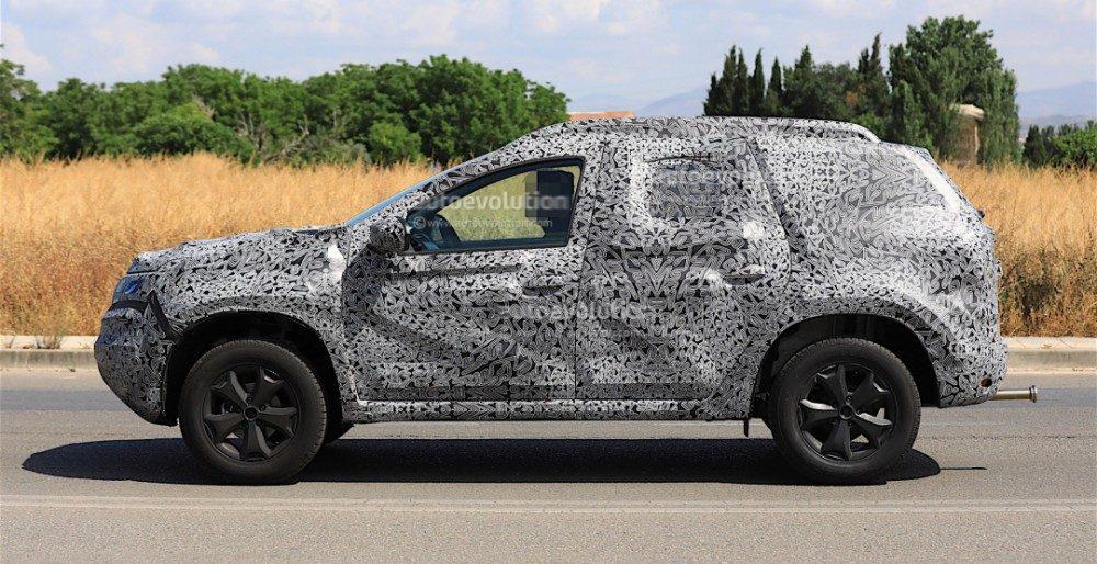 Renault Duster 2018 первые подробности и фото