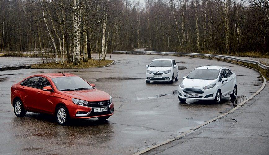 Lada Vesta тест-драйв: 1.8 АМТ брать или копить на иномарку?