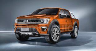 Форд Рейнджер 2019: первый рендер и подробности