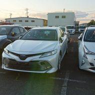 Тойота Камри 2018 в новом кузове: первые живые фото и подробности о рестайлинге