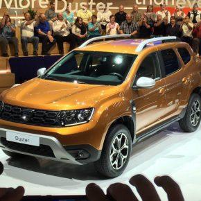 Dacia Duster 2018: дебют в Париже